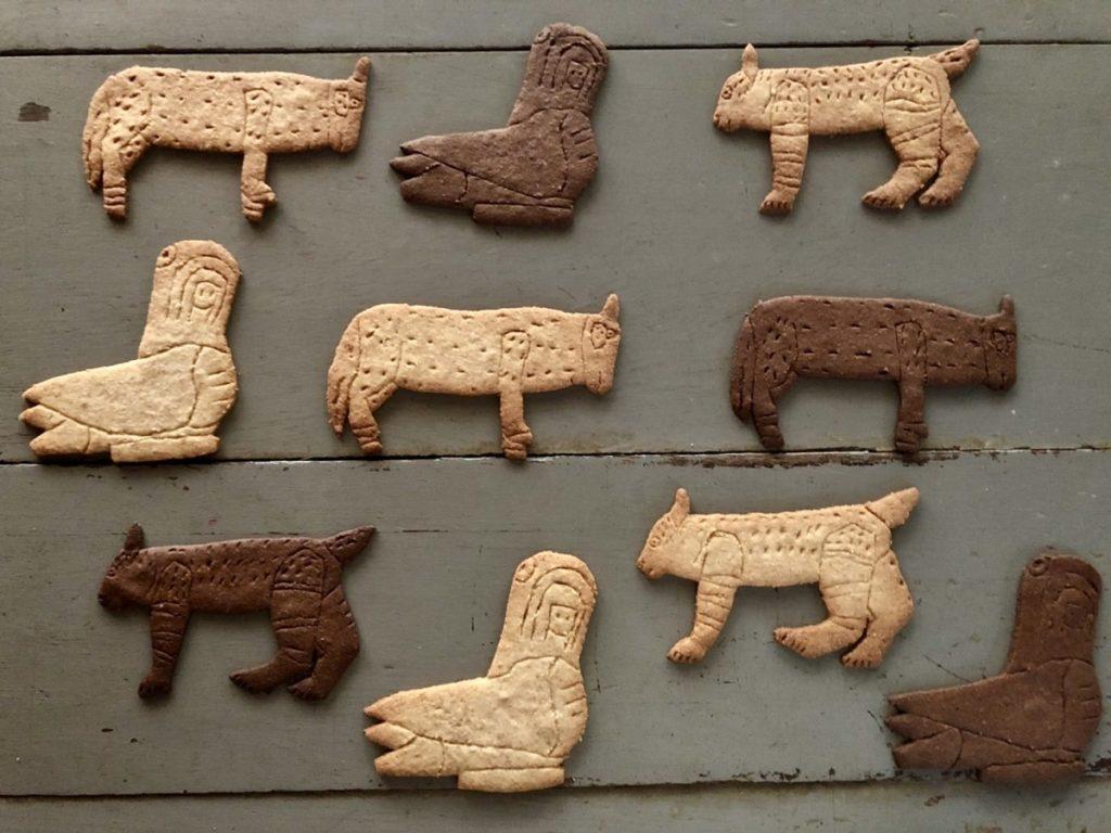 「ANIMALS FROM OAXACA」木彫りクッキー